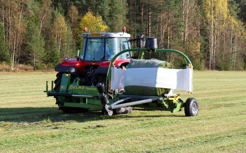 ELHO Bale Wrapper Farm Machine
